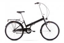 Romet Jubilat 3 kerékpár Fekete