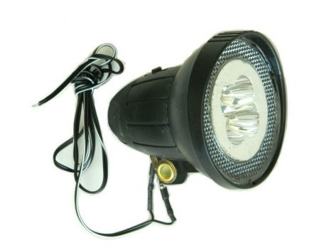 Velotech 4LED dinamós első lámpa