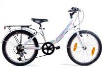 KPC Candy 20 6 sebességes gyerek kerékpár Fehér