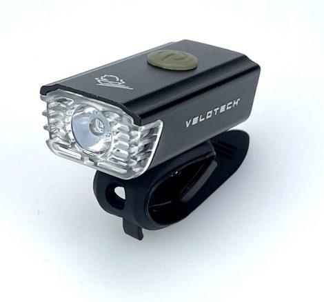 Velotech Alu Mini USB első lámpa