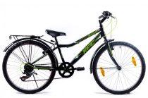 KPC Dennis 20 6 sebességes gyerek kerékpár Fekete