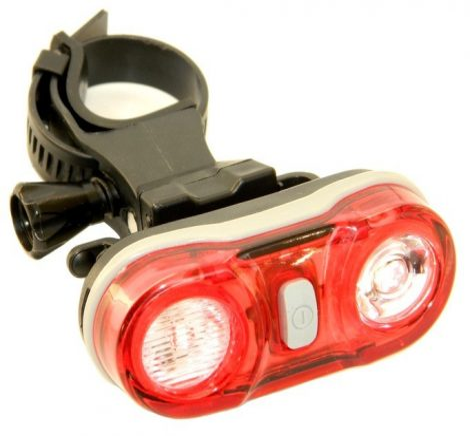 Velotech 2x0,5W hátsó lámpa