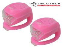 Velotech 2LED lámpaszett