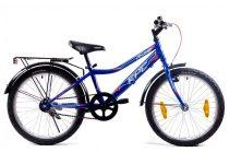 KPC Franky 20 kontra fékes gyerek kerékpár Kék
