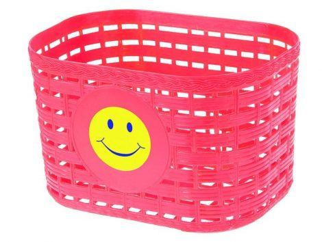 Műanyag gyerek színes kosár