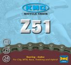 KMC Z51 lánc