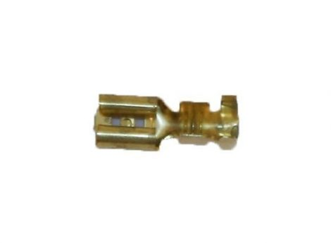 Dinamóvezetékhez 2,8mm saru