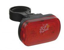 Tour de France 3LED hátsó lámpa