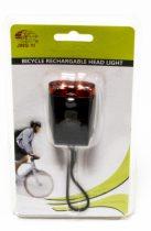 Fekete USB-s hátsó lámpa