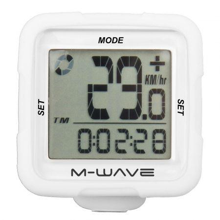 M-Wave szilikonos 14 funkciós vezeték nélküli kilométeróra