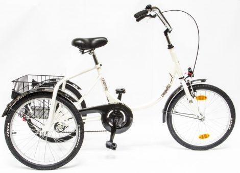 Schwinn Csepel Camping három kerekű kontrás kerékpár Barna