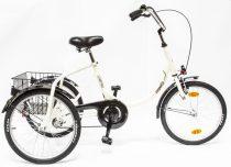 Schwinn Csepel Camping három kerekű agyváltós kerékpár Krém