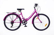 Neuzer Cindy 24 City gyermek kerékpár több színben