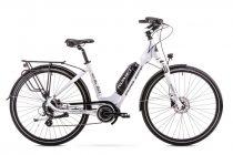 Romet ERC 100 Lady elektromos trekking kerékpár Fehér