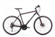 Romet Orkan 4 férfi crosstrekking kerékpár '18 Fekete