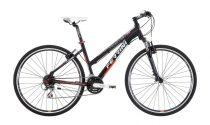 Ferrini Faster női crosstrekking kerékpár fekete