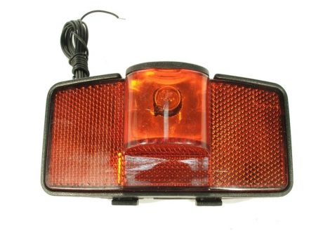 Velostar hátsó lámpa csomagtartóra