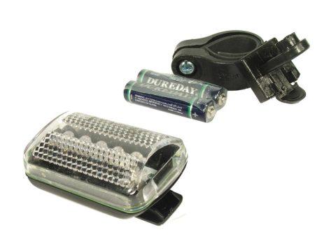 Velostar 5 ledes szögletes első lámpa
