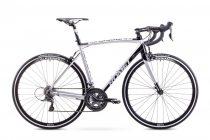 Romet Huragan 2+ országúti kerékpár Fehér-Fekete