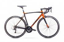 Romet Huragan 3 országúti kerékpár Fekete-Narancs
