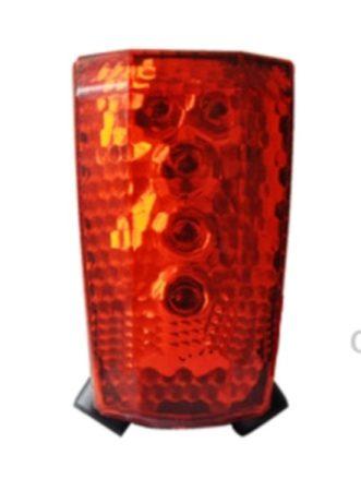 Velostar 5 led+ laser hátsó lámpa