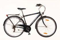 Neuzer Ravenna 30 férfi trekking kerékpár Fekete