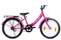 KPC Fairy 20 kontra fékes gyerek kerékpár Rózsaszín