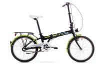 Romet Wigry 3 kerékpár 2018 fekete-zöld