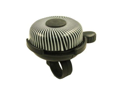 Velostar alumínium zebra csengő (52mm)