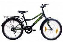 KPC Dennis 20 kontra fékes gyerek kerékpár Fekete