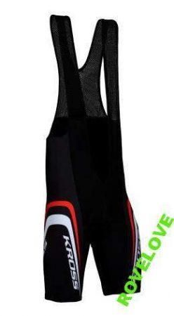 Kross MTB kerékpáros kantáros rövidnadrág