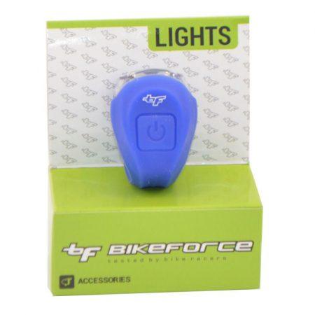 BikeForce Boomer szilikonos lámpa több színben