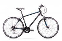 Romet Orkan 2 férfi crosstrekking kerékpár Fekete