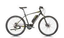 Shockblaze Pulse E600 férfi pedelec crosstrekking kerékpár fekete
