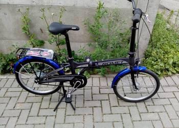 Romet Wigry 8 kerékpár 2018 fekete-kék
