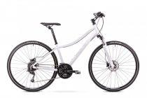 Romet Orkan 4 női crosstrekking kerékpár Fekete