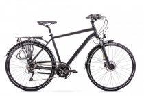Romet Wagant 7 férfi trekking kerékpár Fekete