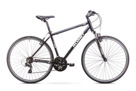 Romet Orkan férfi crosstrekking kerékpár 2018 fekete-grafit L
