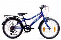 KPC Franky 20 6 sebességes gyerek kerékpár Kék