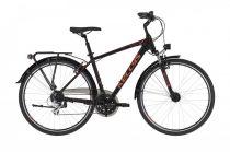 Kellys Carson 40 férfi trekking kerékpár Fekete