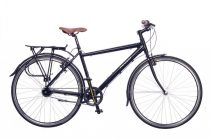 Neuzer X-Street városi kerékpár Fekete