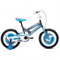 Capriolo Mustang 16 gyermek kerékpár grafit-kék