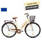 Capriolo Amsterdam Lady női agyváltós városi kerékpár Krém