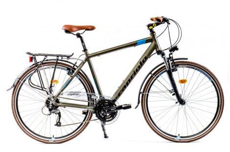 """Capriolo Roadster Man 2.0 férfi trekking kerékpár 21"""" Limited Pezsgő-Kék"""
