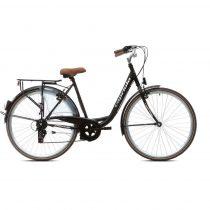 Capriolo Diana 6 sebességes női városi kerékpár fekete