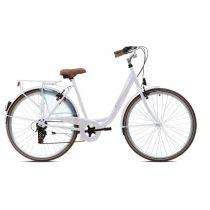 Capriolo Diana 6 sebességes női városi kerékpár fehér