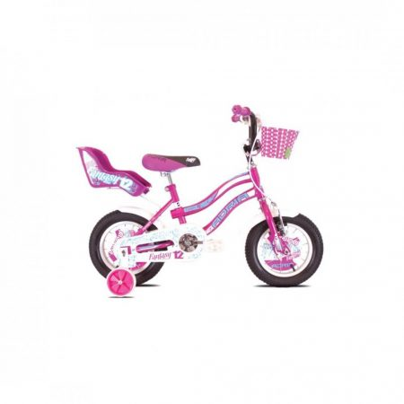 """Adria Fantasy 12"""" gyerek kerékpár Lila-Rózsaszín"""