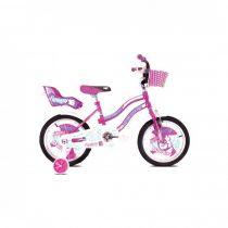 """Adria Fantasy 16"""" gyerek kerékpár Lila-Rózsaszín"""