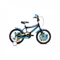 """Adria Rocker 16"""" gyerek kerékpár Fekete-Kék"""