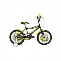 """Adria Rocker 16"""" gyerek kerékpár Fekete-Zöld"""